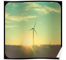Indiana Windmills Poster