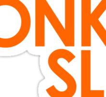 We're Not Having Monkey Slut As A Password Sticker