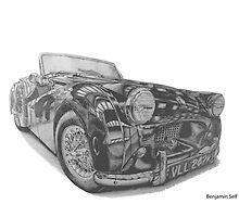 Triumph TR2 by BSIllustration