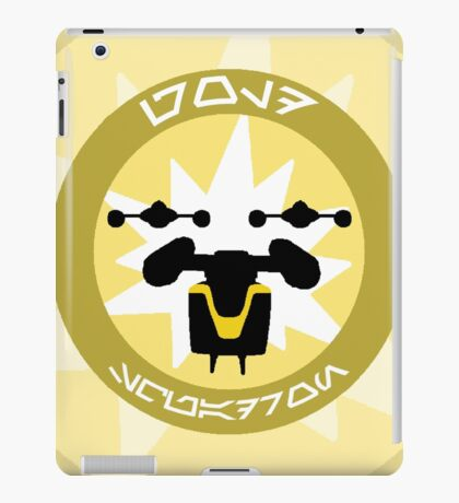 Gold Squadron - Insignia Series iPad Case/Skin