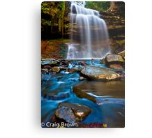Great Falls Metal Print