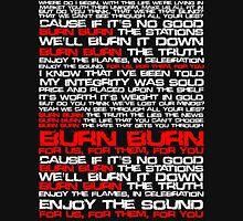 Burn Burn - Lostprophets (Lyrical) Hoodie