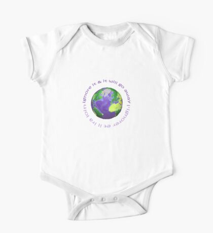 earth day kids One Piece - Short Sleeve
