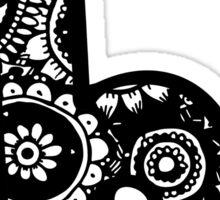 B Doodle Letter Sticker