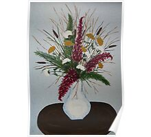 Bouqet of Flowers Poster