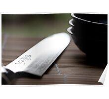 Sashimi Knife Poster
