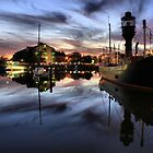 Hull Marina at Dusk by martinhenry