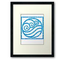 Water Nation logo Framed Print