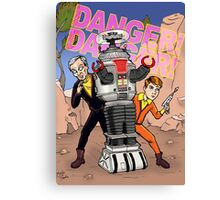Danger, Will Robinson! Canvas Print
