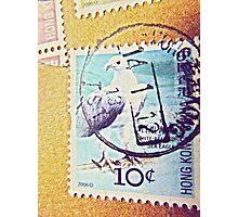 postage stamp Photographic Print