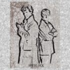 Sherlock and John by Jamie McCall