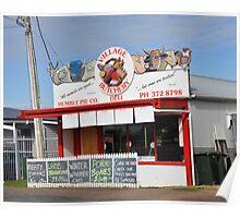 Butchers Shop Poster