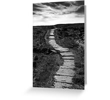 Lifes Paths Are Never Straight But Over The Horizon May Be Your Dream Greeting Card