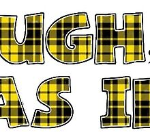 Clueless Quote in Yellow Plaid by lpaynew
