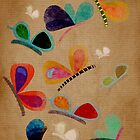 Butterflies iphone case 4 by Ruth Fitta-Schulz
