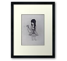 You'd Be North I Framed Print
