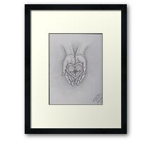You'd Be North II Framed Print