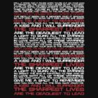 The Sharpest Lives Are The Deadliest To Lead - My Chemical Romance (Lyrical) by Dsavage94