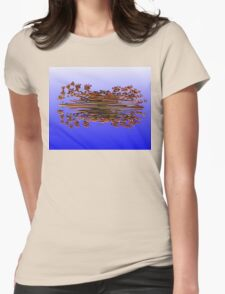©TAIMITIDESIGNS. -*REFLECTION* Womens Fitted T-Shirt