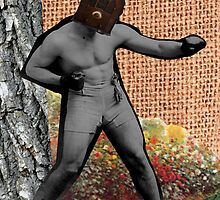 War & Peace & The Narcissist(Surrealist Collage) by Welte Arts & Trumpery
