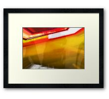 Semi-conducting Framed Print