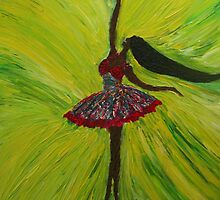 Ballerina by Allan Maticic