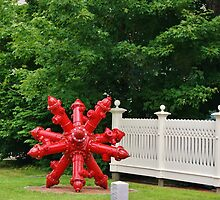 Fire Hydrant Sculpture by jeanlphotos