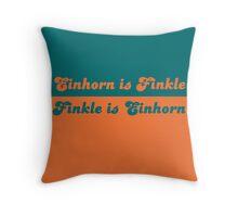 Finkle is Einhorn Throw Pillow