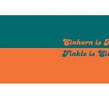Finkle is Einhorn by cussingcups