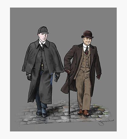 Victorian Sherlock and John Photographic Print