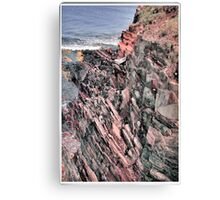 Eroded Beauty Canvas Print