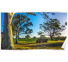 Bullock Creek Vineyard - Bendigo, Victoria Poster