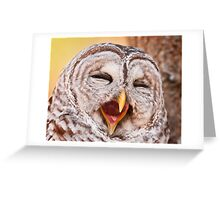 Say Awe... Greeting Card