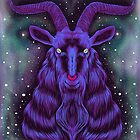 Space Goat by SmokingSheep