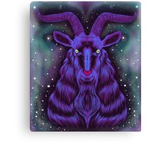 Space Goat Canvas Print