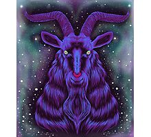 Space Goat Photographic Print
