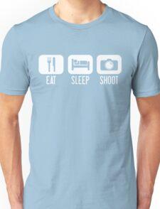 Eat. Sleep. Shoot. Unisex T-Shirt