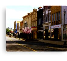Small Town 2 Canvas Print