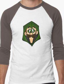 The Green Luigi Men's Baseball ¾ T-Shirt