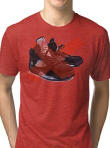 Jordan retro Metallic 5 inspiration Tri-blend T-Shirt