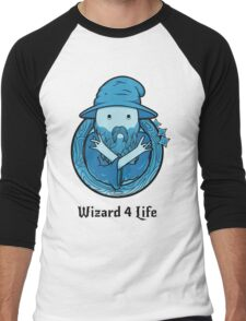 Wizard 4 Life Men's Baseball ¾ T-Shirt