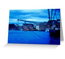 Blue Harbor Greeting Card