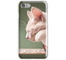 Not a Creature was Stirring iPhone Case/Skin