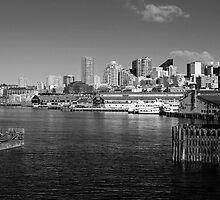 Downtown Seattle from Puget Sound by North22Gallery