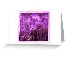 Pretty Grasses Greeting Card