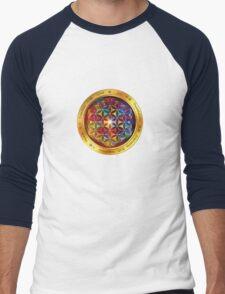 The Flower of Life Men's Baseball ¾ T-Shirt
