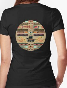 Seamless Totem Womens Fitted T-Shirt