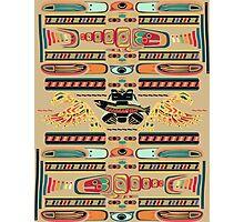 Seamless Totem Photographic Print