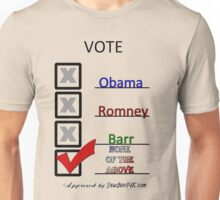 Go Vote Unisex T-Shirt
