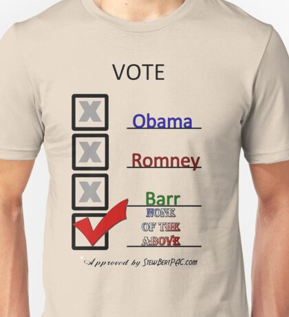 Go Vote Unisex T-Shirt